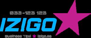 Izigo Taxi Borås logga