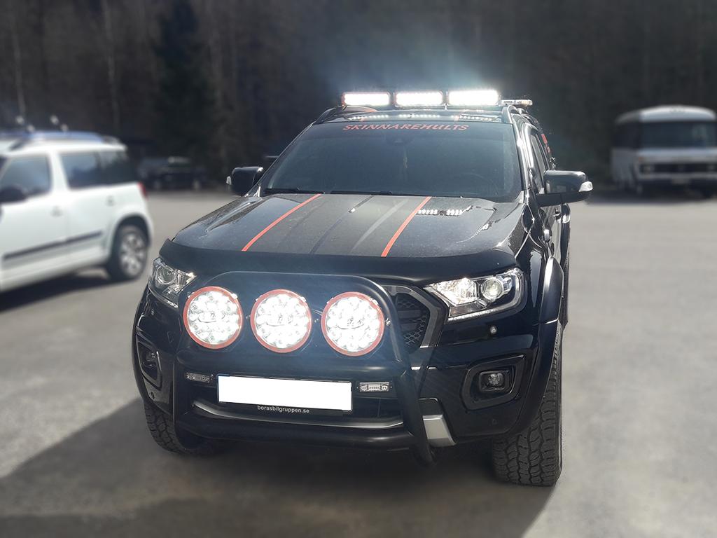 Ford Ranger Wildtrak, fram
