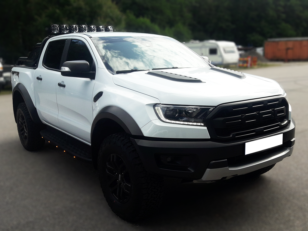 Ford Raptor, vit demobil